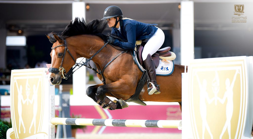 Nahyan bin Mubarak crowns winners of 7th International Show Jumping Cup