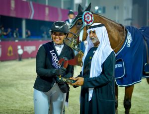 Read more about the article Nahyan bin Mubarak crowns winners of 7th International Show Jumping Cup