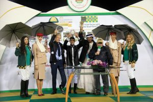 Read more about the article AF Hakeem wins Wathba Stud Farm Cup for Al Naboodah in Abu Dhabi