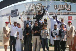 Al Marri on Rakassah Anik wins YAS ride