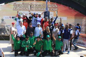 Al Mozroui wins Al Hosn Endurance ride