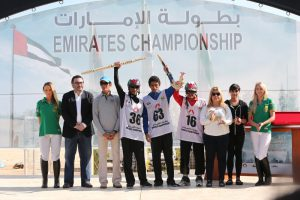 Al Owaisi shines in the Emirates Endurance Championship