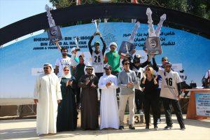 Al Qahtani rides Escoba to victory in HH Sheikh Zayed Bin Mansoor ride