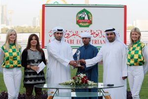 An event which is part of the Abu Dhabi Authority for Culture and Heritage's (ADACH) HH Sheikh Mansoor bin Zayed Al Nahyan Global Flat Racing series