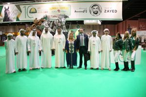 Visitors throng Sheikh Mansoor pavilion at ADIHEX