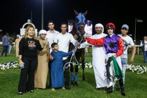 Beasley steers Hawafez to victory
