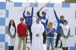 Read more about the article Dana Al Mutawa wins Rashid Bin Hamdan Al Maktoum Challenge Festival ride