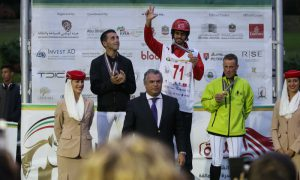 Read more about the article Dominant display by Al Mazroui on Descarado