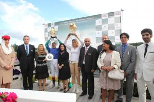 Read more about the article Double delight for van denBos as UAE's Shathra AlHajjaj shines