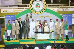Euros 1.2 million Sheikh Zayed Bin Sultan Al Nahyan Cup Crown Jewel-IPIC (Group 1) on Sunday Star-studded field for world's richest race for Purebred Arabians