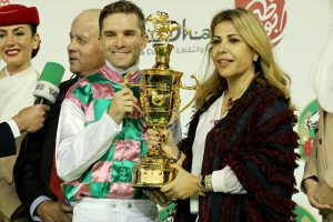 Read more about the article First Group 1 winner for HH Sheikha Fatima Bint Mansoor Al Nahyan – Loraa strikes with President's Cup win in UAE
