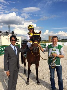 Read more about the article German horse S Maran wins debut race