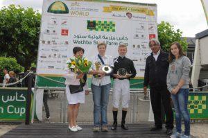 Hania DA wins Wathba Stud Farm Cup IV in The Netherlands