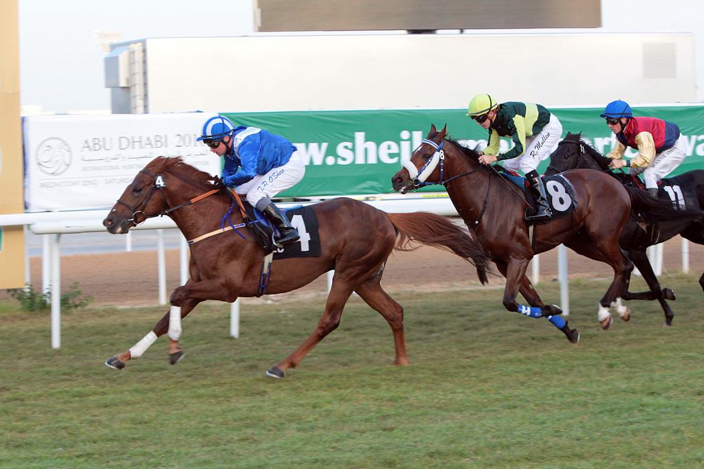 he world's richest race meeting for Purebred Arabians in Abu Dhabi