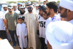 Read more about the article HH Sheikh Mohammed, HH Sheikh Hamdan attend endurance ride