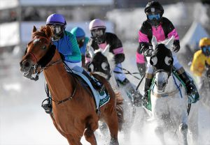 Read more about the article HH Sheikha Fatima Ladies race on frozen St Moritz lake on Sunday
