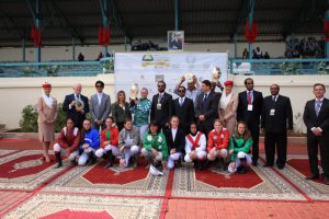 Read more about the article HH Sheikha Fatima Ladies World Championship race in Casablanca Grard powers home on Charmsper