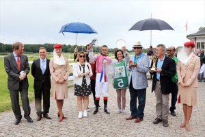 HH Sheikha Fatima World Championship race in Copenhagen, Young Scipioni partners 'veteran' Sartejano to victory