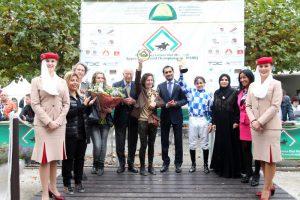 Read more about the article Jamie wins in Duindigt to book berth in HH Sheikha Fatima bint Mubarak Apprentice World Championship