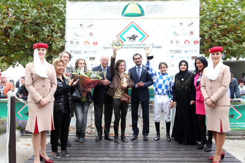 You are currently viewing Jamie wins in Duindigt to book berth in HH Sheikha Fatima bint Mubarak Apprentice World Championship