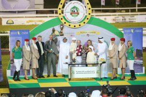 Kalino wins world's richest race for Purebred Arabian horses