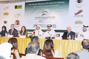 Khaleej Times: Abu Dhabi to host world Arabian horse race meet