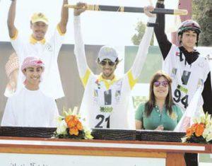 Marri rides to glory