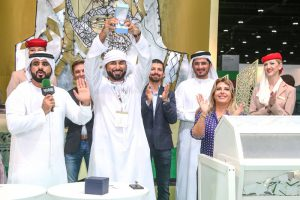 Sheikh Mansoor pavilion at ADIHEX A huge attraction for visitors