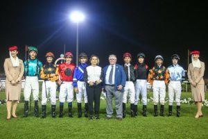 Mullen scores on AF Kafu in Wathba Stallions Cup
