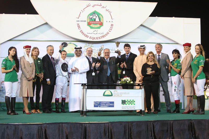 You are currently viewing Najem Suhail wins Wathba Stud Cup, delights connections