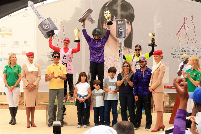Nouf Reda wins Sheikha Fatma Ladies ride