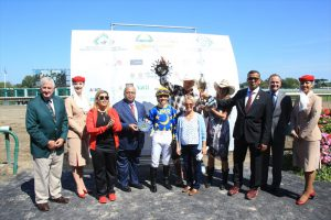 Paddys Day wins Sheikh Zayed Triple Jewel as Arabian horses debut in Monmouth Park