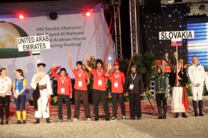 Read more about the article Samorin, Slovakia The FEI World Endurance Championships for Young Horses 2014 got off to a rousing start as riders from 15 countries