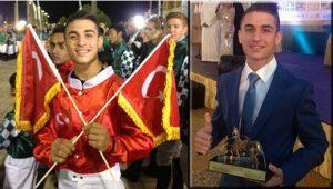 Şeyhin atıyla dünya şampiyonu oldu