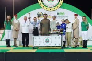 Read more about the article Shateh wins Group 3 Al Ruwais Latifa Princess gives Aske third Wathba Cup win of season