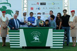 Wathba Cup opens Al Ain race season RB Goliath cruises home