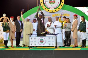Wathba Stud Farm Cup for Private Owners race in Abu Dhabi, Buckell steers Al Muntakhab to victory