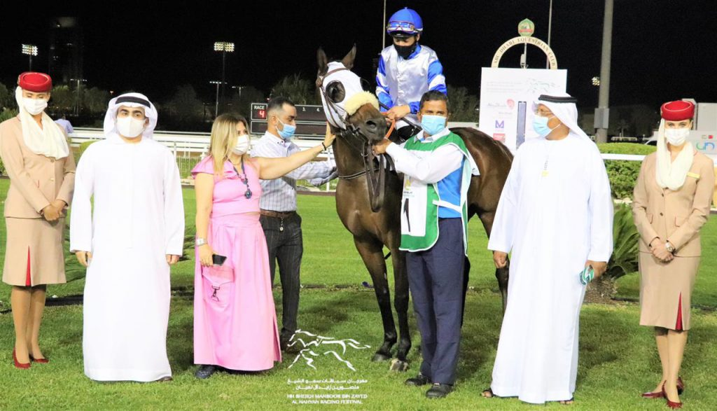 """Faiza"" wins the Al Wathba Cup champion in Abu Dhabi"