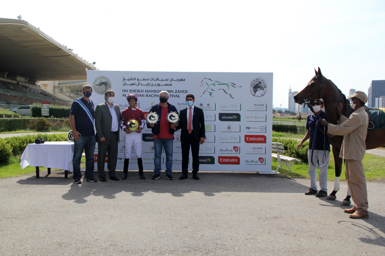 Clapton AJR and RG Kodak winners GP Wathba Cup for Stallions Colts and Fillies in São Paulo
